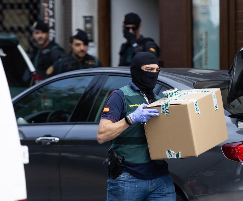 Detenidos 9 independentistas en una operación contra los CDR