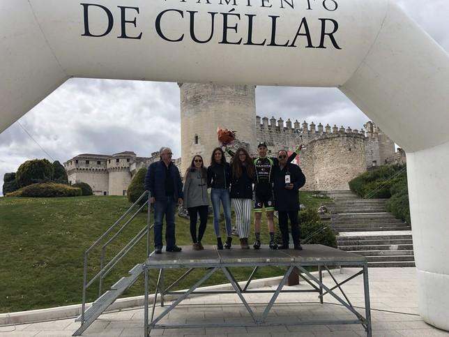 Noel Martín se come por tercera vez 'La Chuleta' en Cuéllar