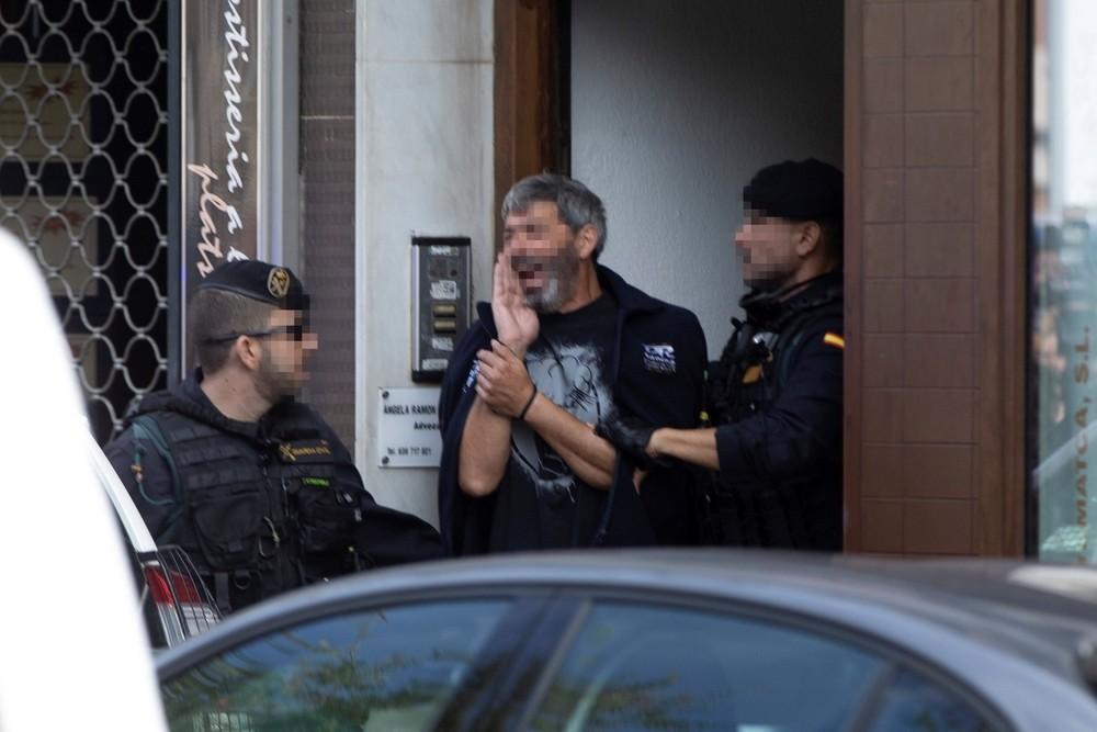 Los CDR detenidos ultimaban actos terroristas con explosivos