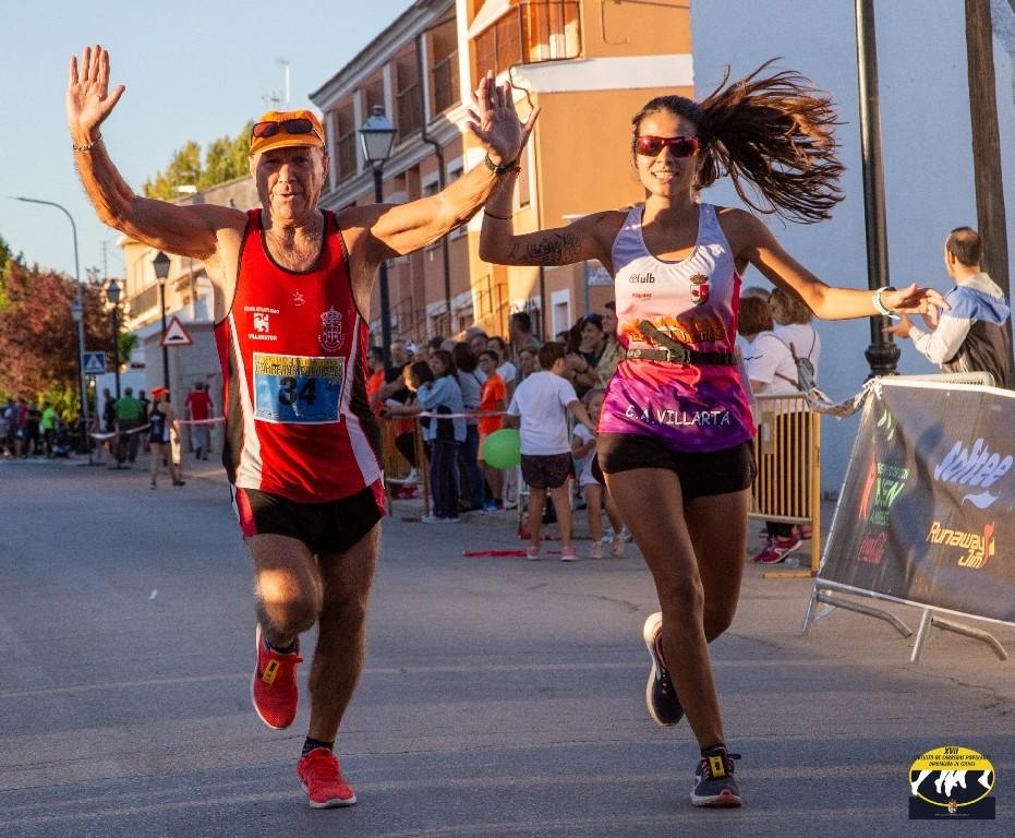 Ismael Mingo y Paola Niño ganan la prueba popular de Horcajo