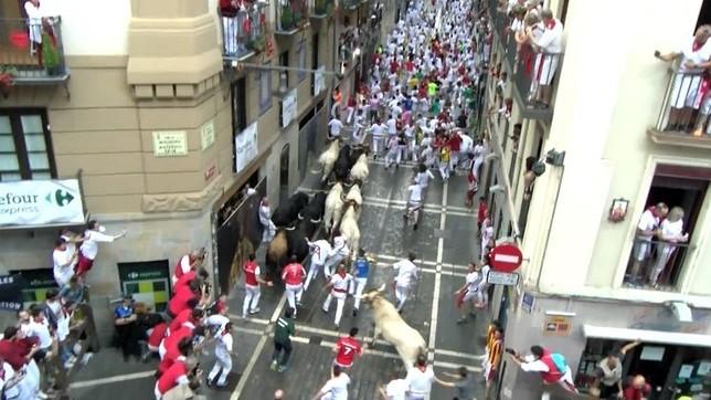 El Casco Viejo de Pamplona quedará inhabilitado este domingo