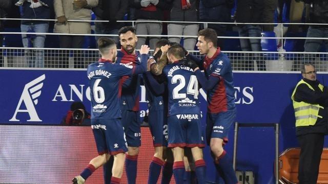 El Huesca golea al Pucela La Liga