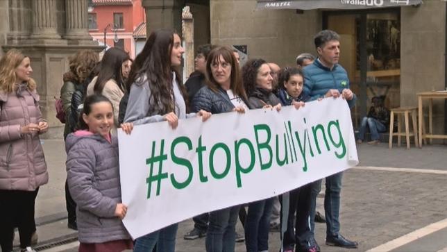 Pamplona se llena de actos de apoyo contra el Bullying