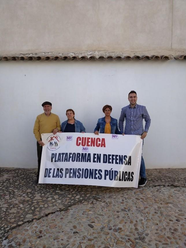 Garrote se reúne con el grupo en defensa de las  pensiones