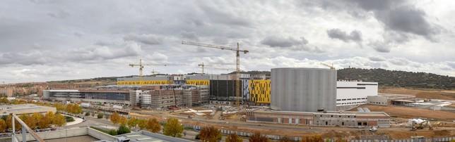 El nuevo Hospital de Toledo, a vista de dron Yolanda Lancha