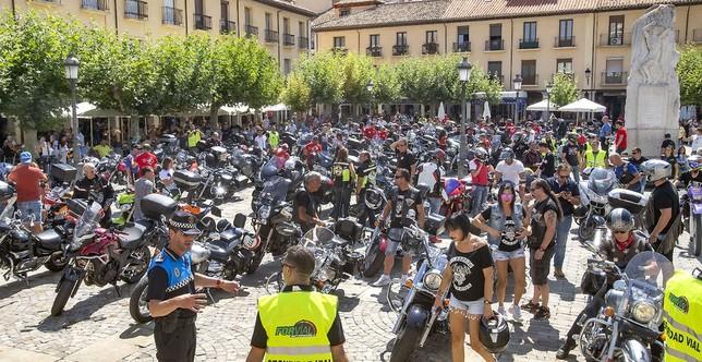 En moto por la ciudad