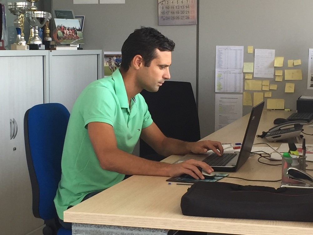 Miguel Flaño: de capitán de Osasuna al despacho en Tajonar
