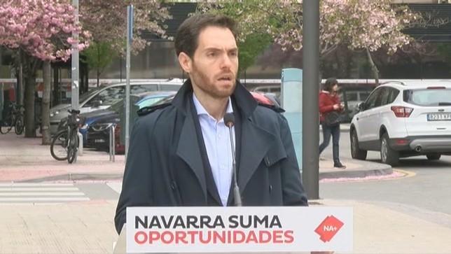 """Sayas: """"Barkos ha usado la fiscalidad contra los navarros NATV"""