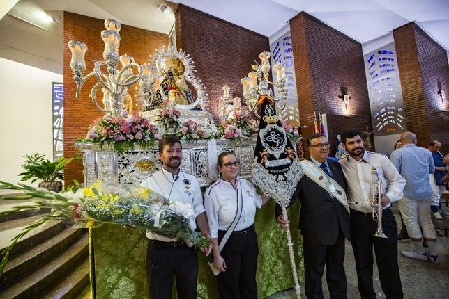 Fe hacia la Virgen de la Cabeza
