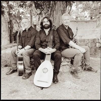 Antonio Toledo, Ramiro Morales y Andreas Prittwitz