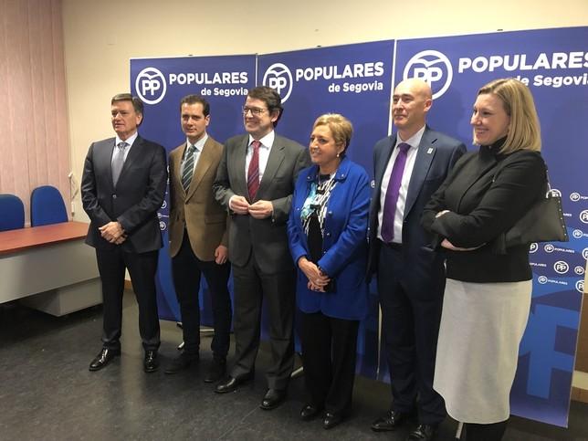 Mañueco pide a los candidatos 'lealtad y compromiso al PP'