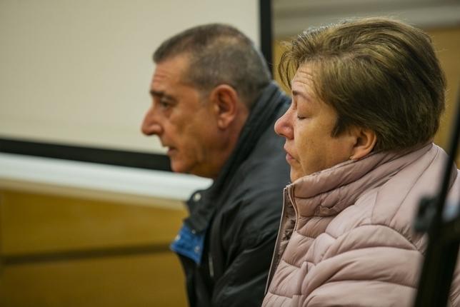 La madre del acusado Fotos Rueda Villaverde