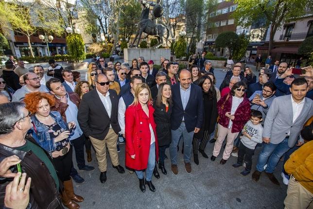Arrimadas resalta el papel de Castilla-La Mancha para el 28A Rueda Villaverde