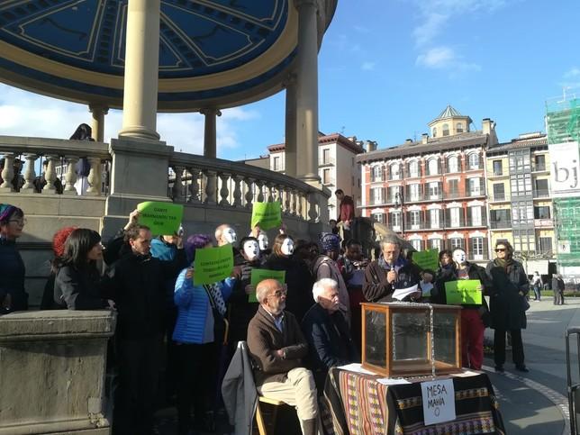 Reclaman en Pamplona el derecho al voto de los extranjeros