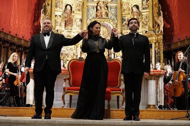 La cantata del Conde Ansúrez llena la catedral de Valladolid