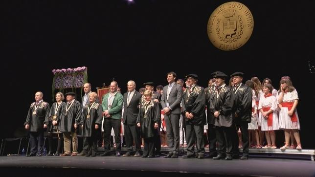 El acto central del XXVIII Capítulo de la Orden del Cuto Divino se ha celebrado en la Casa de Cultura de Tafalla