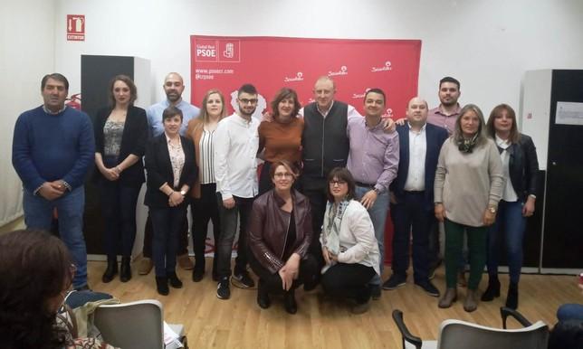 El PSOE presenta las candidaturas de Carrión y Calzada