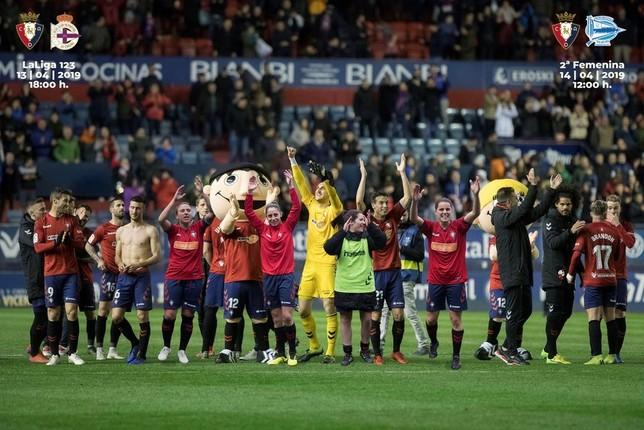 Previa del Osasuna- Deportivo de la Coruña