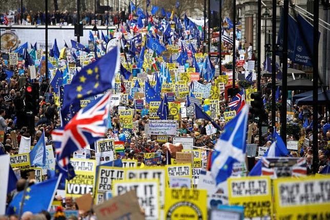 El pueblo exige otro referéndum sobre el Brexit