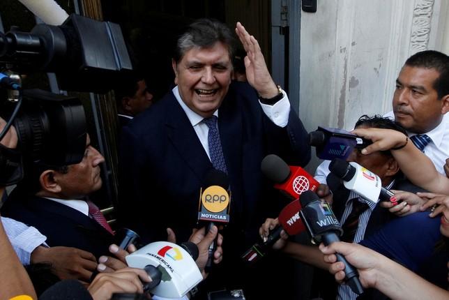 Alan García, crítico tras dispararse cuando iba ser detenido Guadalupe Pardo