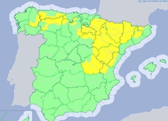 Tiempo inestable en Navarra de cara al fin de semana