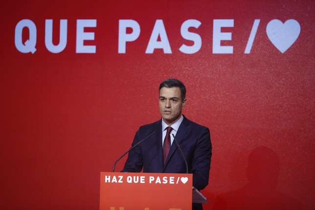 Sánchez declara la guerra a la abstención Eduardo Parra