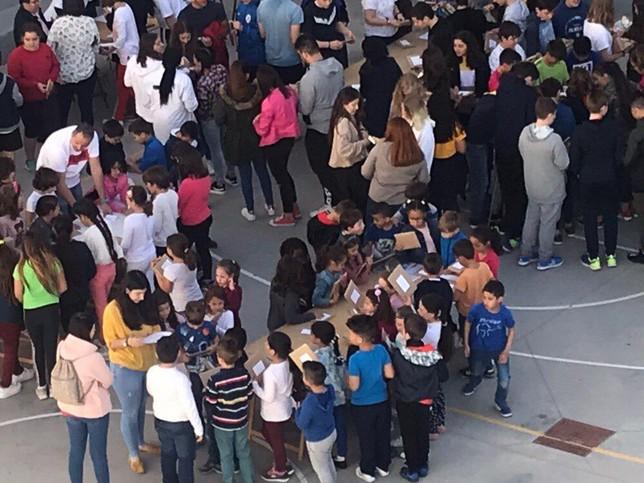 'Cita a ciegas con un libro' en el colegio Melchor Cano