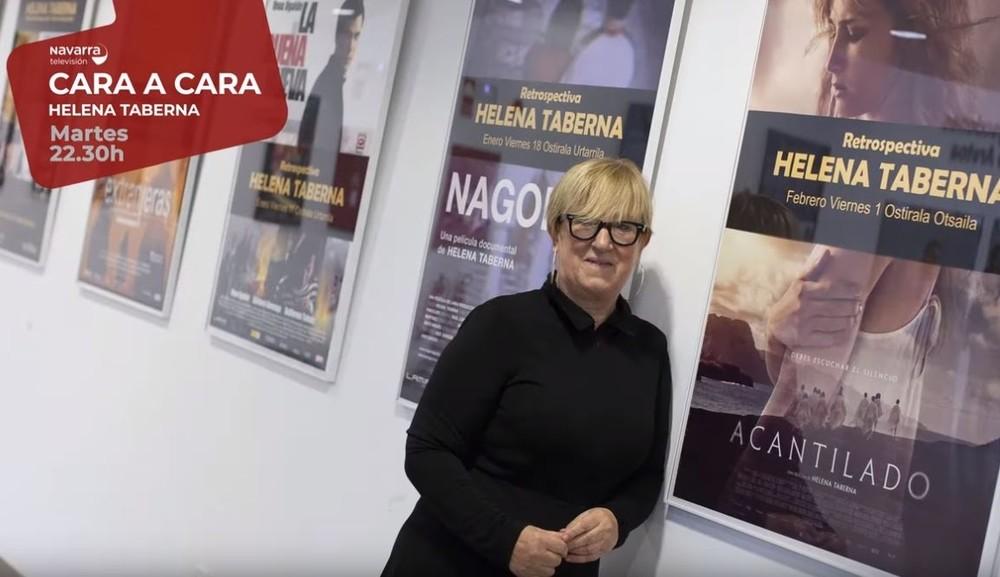 La cineasta Helena Taberna, esta noche 'Cara a Cara'