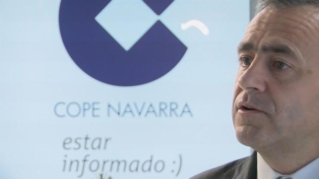 Barriocanal presenta el nuevo director de la COPE en Navarra