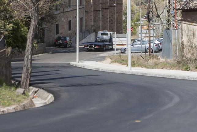 Santa Bárbara estrena el nuevo itinerario peatonal VÁctor Ballesteros