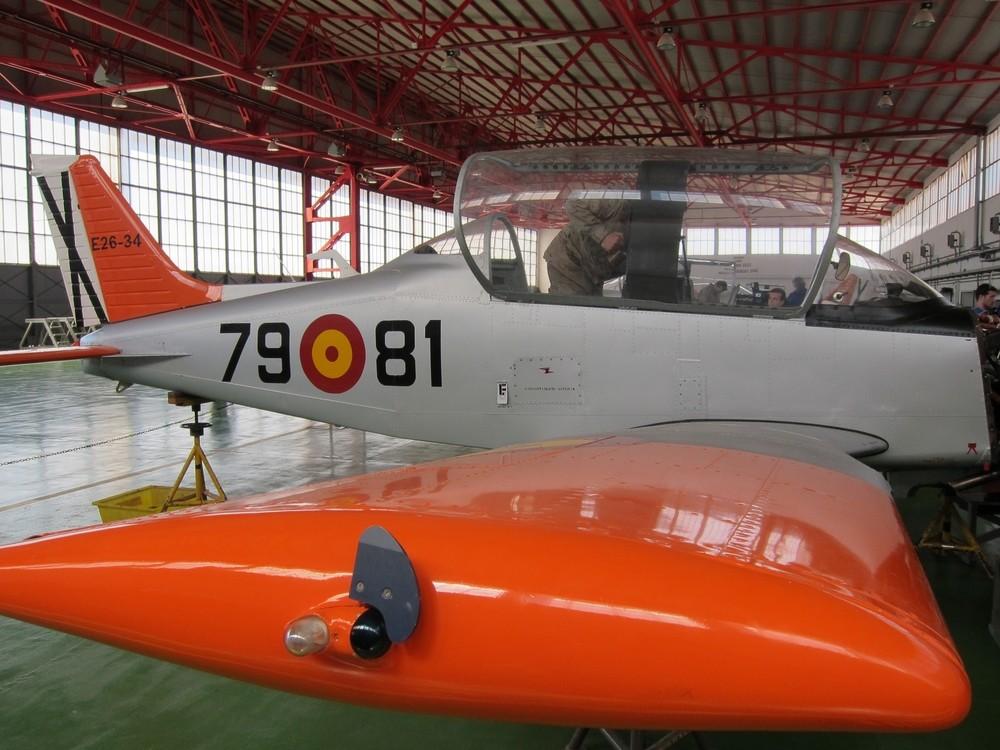 Un fallo de motor en el despegue hizo caer al avión militar