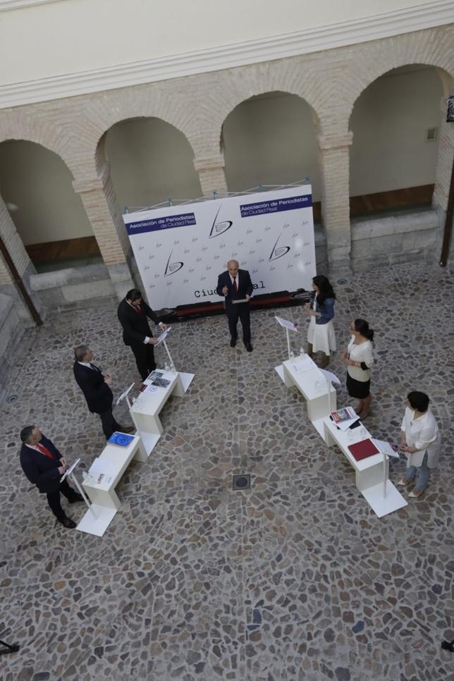 Debate electoral de los candidatos a la Alcaldía de Ciudad Real Tomás Fernández de Moya