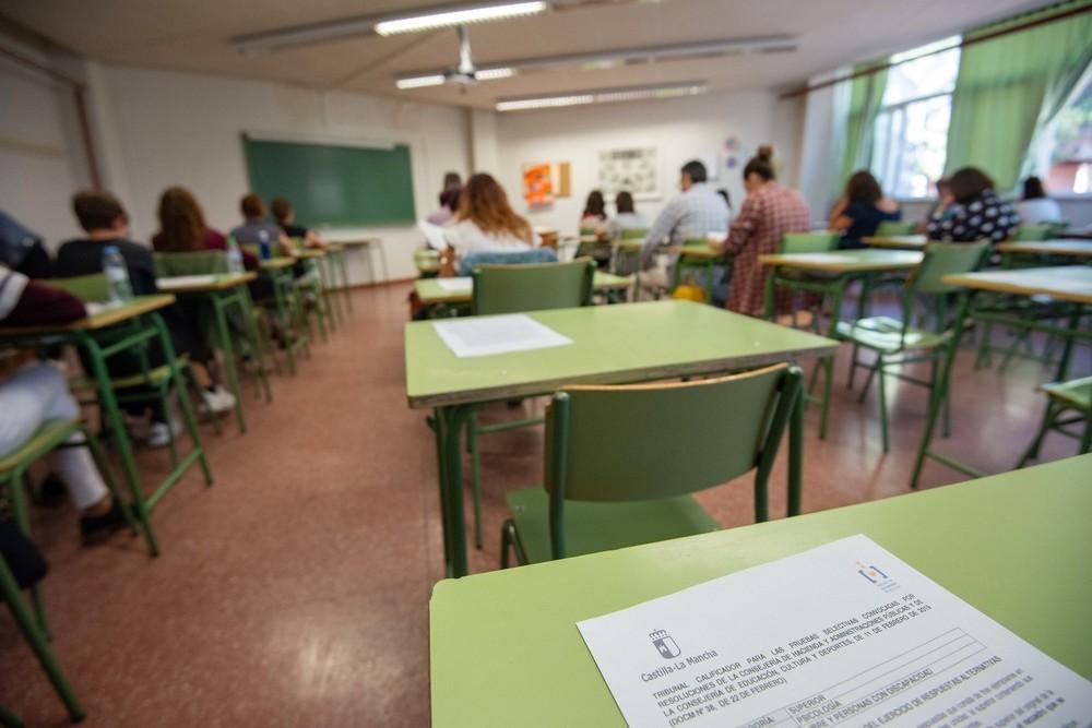 Arrancan los exámenes para 1.767 plazas de empleo público