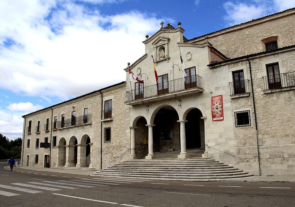Exterior del Santuario de la Virgen del Henar.