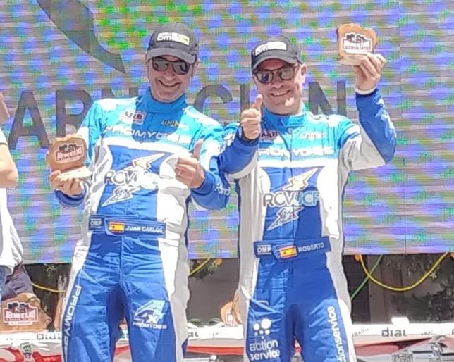 El Promyges Rally Team vuelve al podio