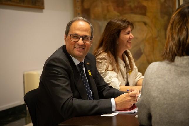 La Justicia investigará a Torra por mantener los lazos David Zorrakino - Europa Press