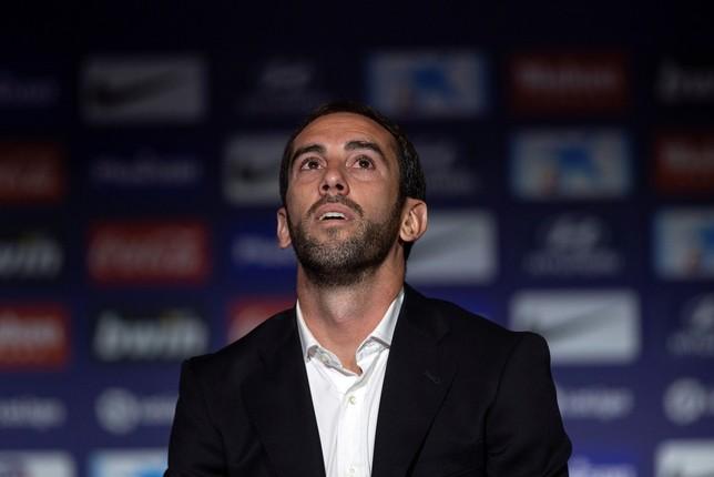 Godín deja el Atlético Rodrigo Jiménez