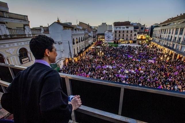 Ciudad Real se tiñe de morado por el 8-M