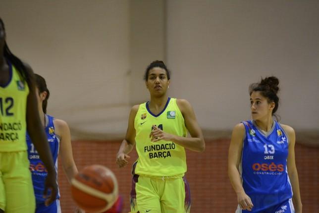 La navarra Aixa Wone es una de las jugadoras destacadas del Barça. Iñaki Martínez