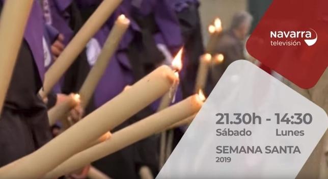Navarra Televisión emite dos especiales en Semana Santa NATV
