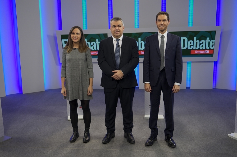 El debate electoral, en Navarra TV