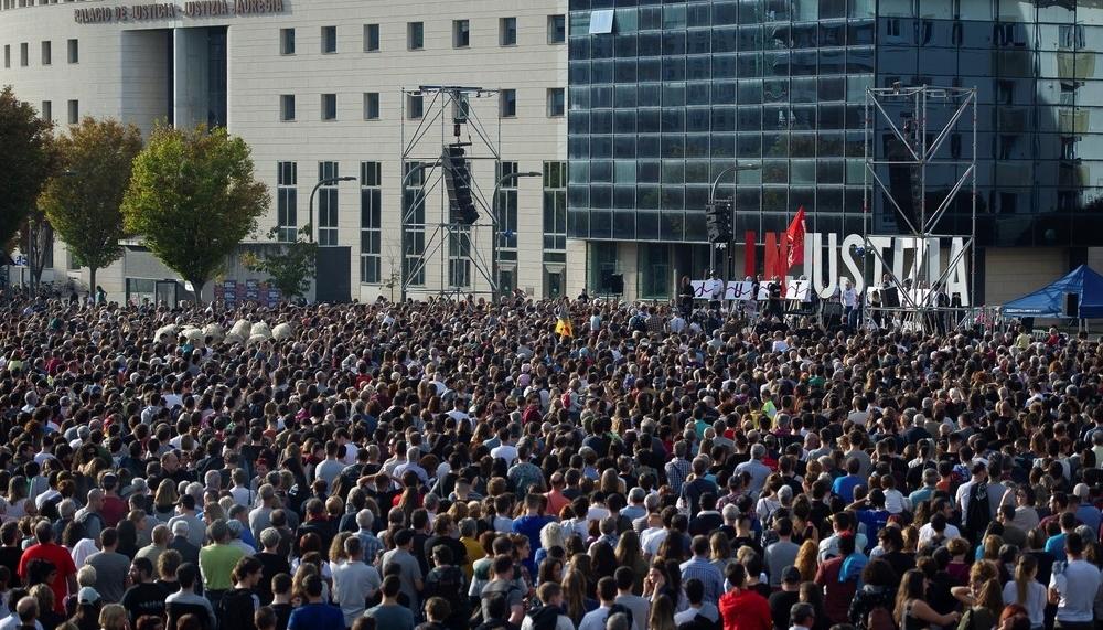Na+ critica que Hualde fuera a la manifestación de Alsasua