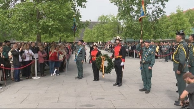 La Guardia Civil homenajea a las víctimas de ETA