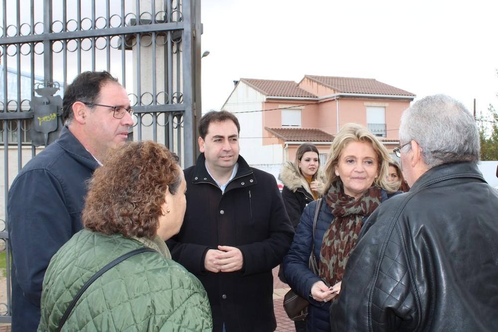 Bonilla pide a pie de calle unir el voto en torno al PP
