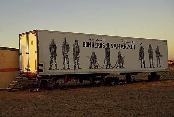 Un 4x4 solidario Valladolid-Sáhara