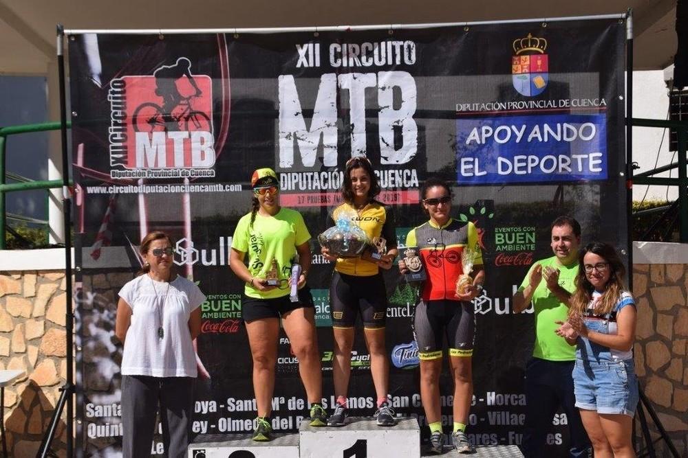 Adrián Plaza y Natalia Moreno se llevan la MTB de Huete