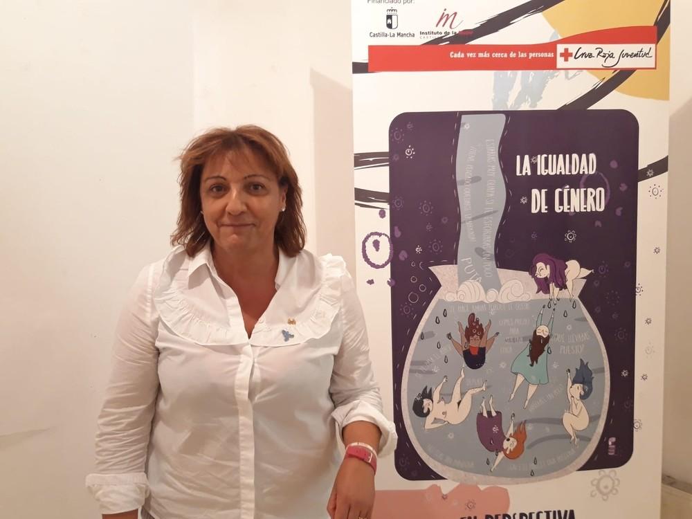Cruz Roja expone La igualdad de género en perspectiva'