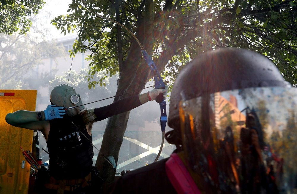 La tensión vuelve a Hong Kong con disturbios en la Universidad