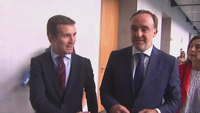 """Esparza: """"PSN y EH Bildu tienen un acuerdo"""""""
