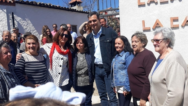 Pedro Sánchez pasa la jornada de reflexión en Anchuras